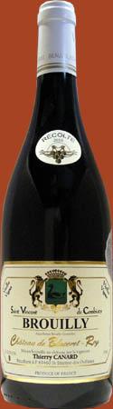 Brouilly Saint Vincent de Combiaty – Vieilles Vignes